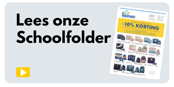 Onze schoolfolder is er! Klik & Shop