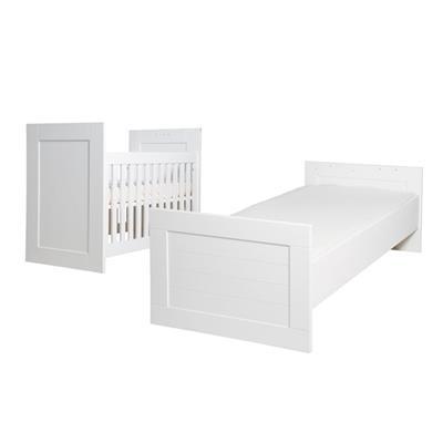 Bopita Narbonne White Bed 60x120 90x200 Omvormbaar