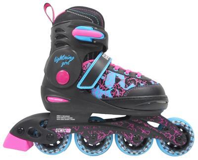 7689dea4433 Inline skate Lighting girl L - Maat 38-41 | De Kinderplaneet
