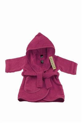 c591ca68ddf Tiseco Baby badjas 1-2 jaar - Fuchsia | De Kinderplaneet