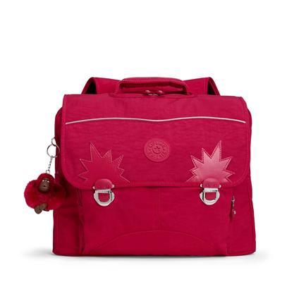 c543db92d2c Kipling Boekentas Iniko - True Pink   De Kinderplaneet