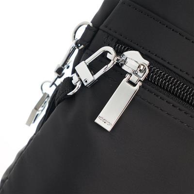 642b4296cf1 Hedgren Schoudertas City Faith RFID + Safety Hook - Titanium | De ...