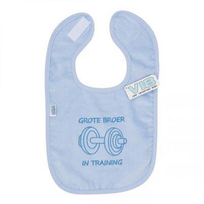 Blauwe Baby Accessoires.Vib Slab Blauw Grote Broer In Training