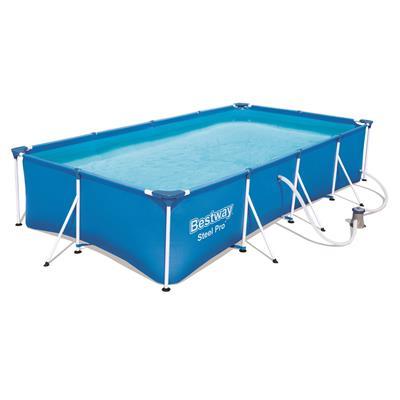 Zwembad Met Pomp.Bestway Frame Pool 400x211x81cm Zwembad Pomp